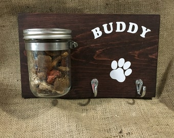Personalized Dog Leash Holder!