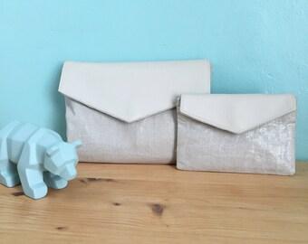 Shiny fabric covers set