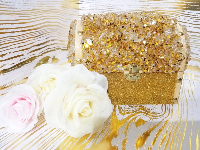 Gold Mine Jewelry Chest