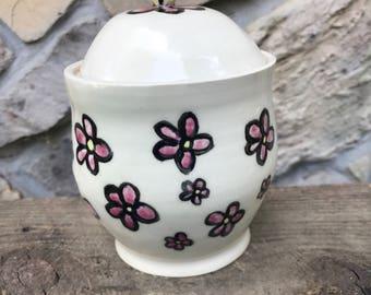 Small Flower Jar