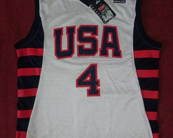 USA Basketball Reebok jersey (number 4 iverson)