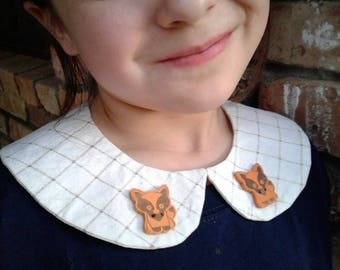 Foxy Peter Pan Detachable Collar- young girls