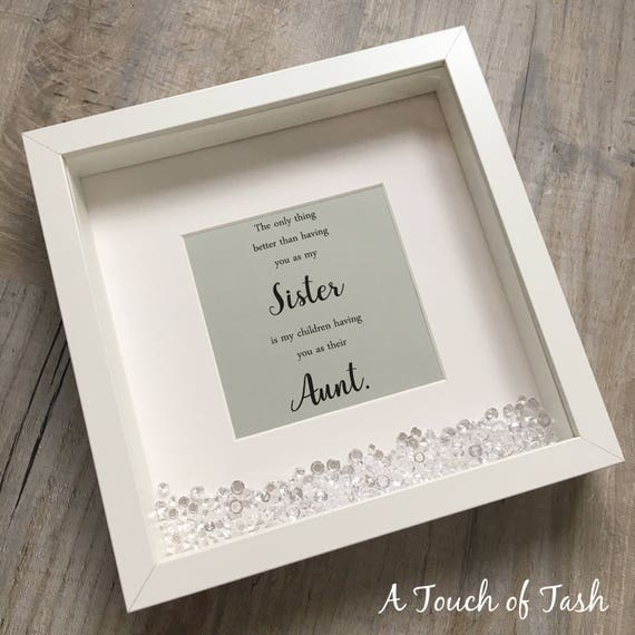 Christmas Gifts For Sister In Law.Sister Gift Sister Box Frame Sister Christmas Gift Sister Scrabble Frame Sister In Law Gift Picture