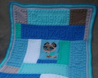 Fully customised baby/toddler blanket