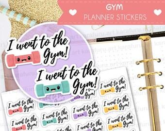 Achievement Stickers Planner Stickers - Fitness Stickers - Cute Planner Stickers - Filofax Stickers - Erin Condren Stickers - Diary Stickers