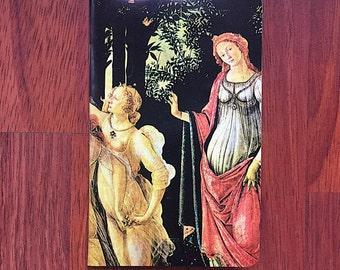 Botticelli's Primavera Pocket Notebook