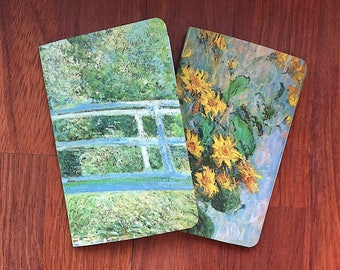 Monet Pocket Notebook Duo