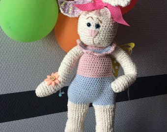 Cuddly amigurumi Bunny plush
