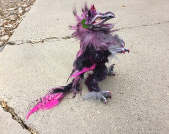Poseable Art Doll - Bella the Raptor