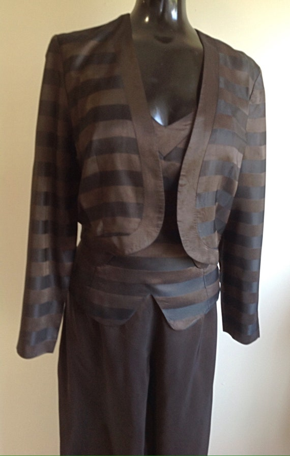 1980s Vintage pant suit, Great Disco outfit ,Sleev
