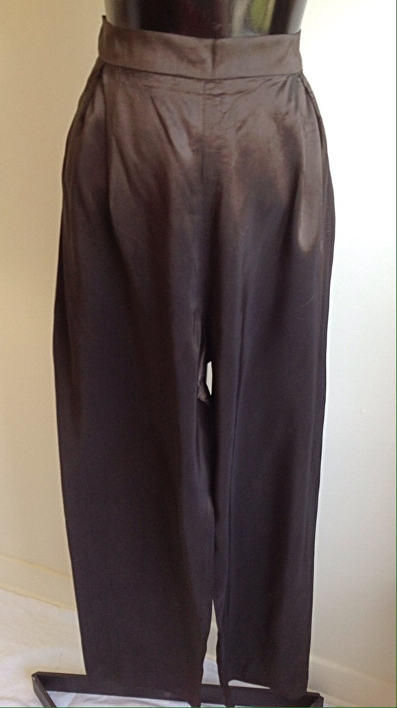 1980s Vintage pant suit, Great Disco outfit ,Slee… - image 4