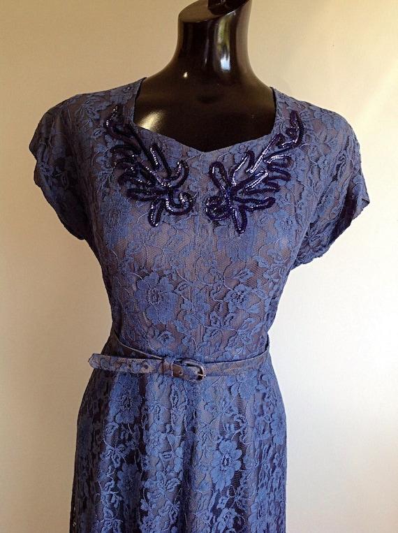 vintage lace suit dress, 1930s lace suit dress