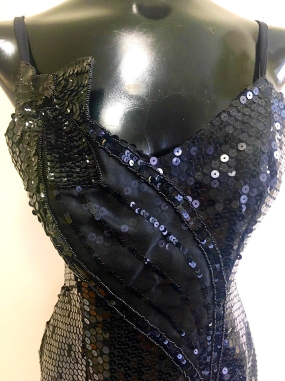 Sequins dress, Bachelorette party dress, 80s sequi