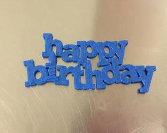 Dozen Happy Birthday Cake Topper