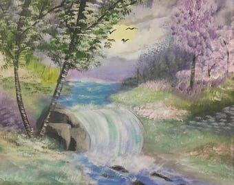Rainbow waterfalls