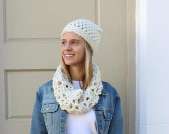 Crochet Kit | DIY | Crochet Pattern | Crochet Scarf / Cowl
