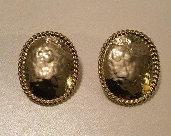 Shield Post Earrings