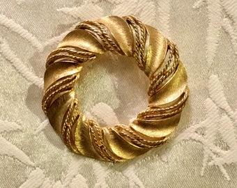 Trifari Wreath Pin