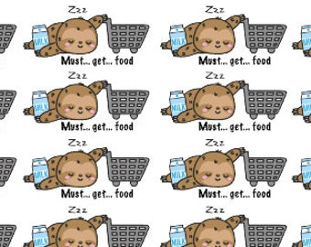 Flash the Sloth grocery stickers/ grocery stickers/ planner stickers/ grocery planner stickers/ sloth stickers/ grocery shopping reminder