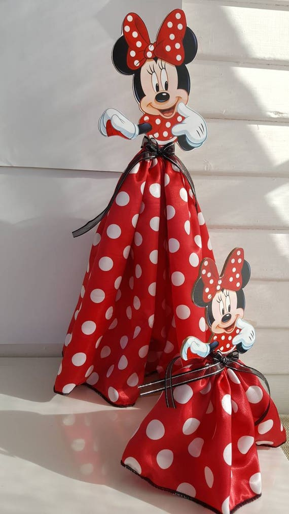 Princess Centerpieces Princess Party Decoration 17 Inches Tall Minnie Mouse Pink And Gold Minnie Mouse Red Minnie Mouse Party Decoration
