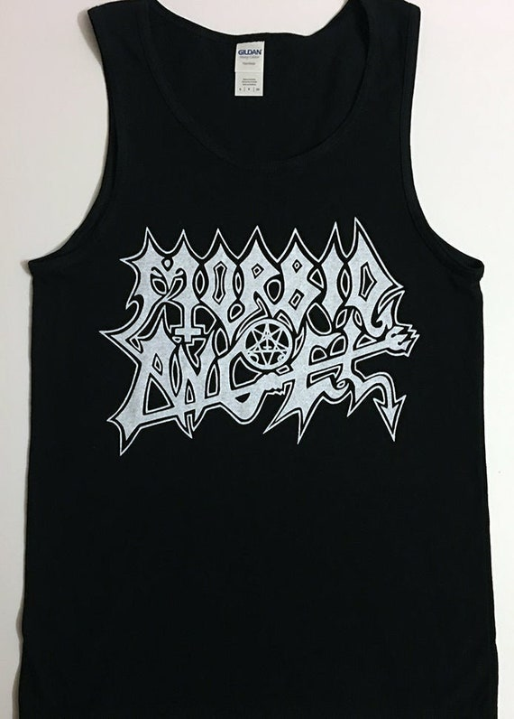 Morbid Angel Tank top Men/'s Death Metal tee Black Metal Bolt Thrower  Carcass Terrorizer Repulsion Slayer Venom Bathory tanktop