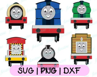 image relating to Thomas and Friends Printable Faces titled Thomas the prepare svg Etsy