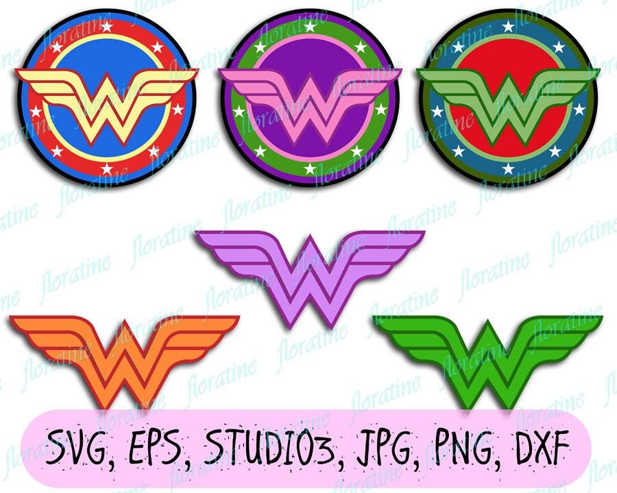 Wonder Woman Svg File Superhero Svg Cricut Explore Superhero Etsy