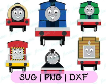 Thomas the tank engine svg, Thomas the train svg, Thomas the train and his friends, Thomas the tank engine and friends, SVG Files For Cricut