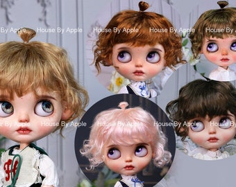 Blythe Doll Wig Cute imitation Mohair wig Doll Wig 9-10inch Pullip wig lovely Style