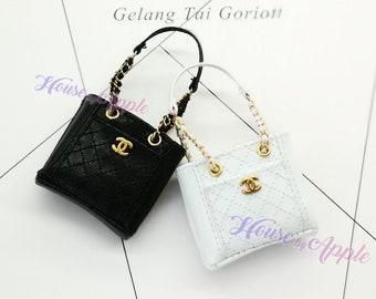Fashion Doll Shoulder handbag Doll Handbag Handmade Doll Bag for Neo Blythe Holala 1/6 BJD Azone Doll Bag Outfit Custom Doll Accessories