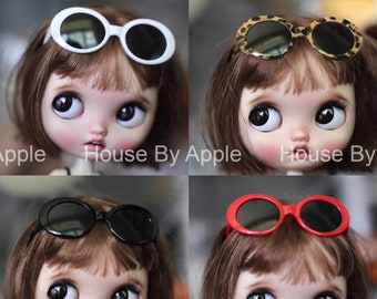 Summer Glasses Sunglasses Blythe Glasses Doll Miniature Cute Glasses Doll fashion for Blythe Doll Glasses