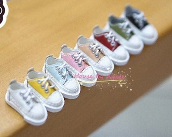 Low-top Sneakers doll shoes for Blythe/DAL/Pullip/AzoneS/momoko/Jerryberry/licca/OB24/LatiYellow/Molly/Pukifee/OB11/Middie Blythe