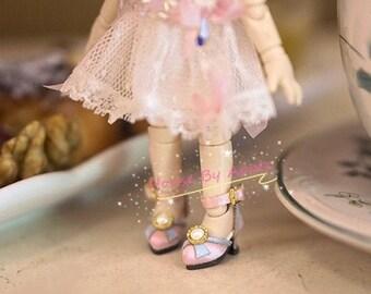 Pre-order!Silk Antique high heels for OB11/P9/GSC