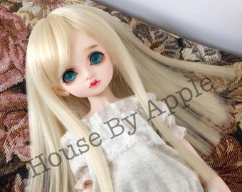 22 Colours Custom Made BJD Long Straight hair high temperature heat resistant fiber wig for 1/3 SD 1/4 msd 1/6 yosd doll wig