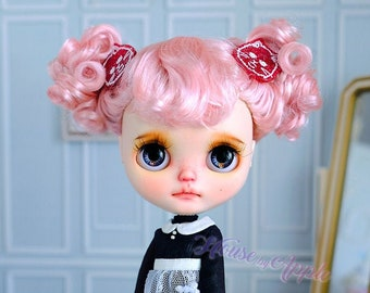 Blythe Doll Wig Little Girl Imitation Mohair Wig Doll Wig 9-10 inch Pullip Wig lovely Style