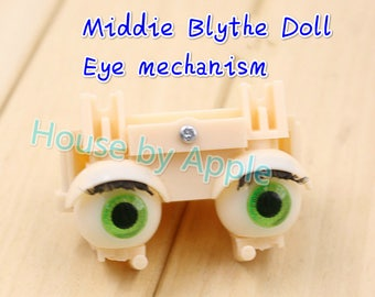 """Middie Blythe doll Eye Mechanism with or without eyechip for Takara 8"""" Middie Blythe Doll Nude Doll Middie Blythe doll customization"""