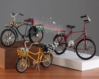 Retro Doll Bicycle Doll Car for Neo Blythe 1/6 BJD  Doll Outfit Custom Doll Accessories Doll Miniature