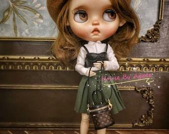 Fashion Doll shoulder Bag Doll Handbag Handmade Doll Bag for Neo Blythe Holala 1/6 BJD Azone Doll Bag Outfit Custom Doll Accessories