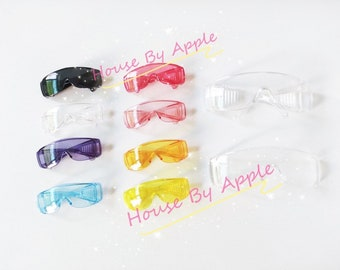 Fashion Goggles Glasses Blythe Glasses Doll Miniature Cute Glasses Doll fashion for Blythe Doll Glasses