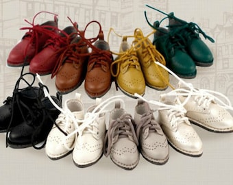 New Colour!British style  Oxford shoes for Blythe/DAL/Pullip/Azone/momoko/Jerryberry/OB 11/Lati Yellow/Pukifee/Licca/FR/Middie Blythe/1:12