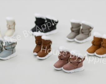 Doll shoes/Sport Snow Boots for Blythe/LatiYellow/OB24/DAL/Pullip/AzoneS/momoko/Jerryberry/pukifee/licca/middieBlythe/OB11