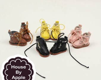 4 colour Casual Short Boots shoes for Blythe/DAL/Pullip/Azone/momoko/Licca/Middie Blythe