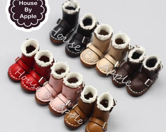 6 colour Short Snow Boots shoes for Blythe/DAL/Pullip/Azone/momoko/Jerryberry/Licca