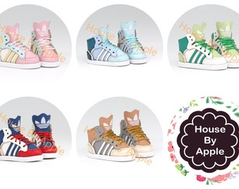 Doll shoes/Sportshoes/Sneaker/Hi-top shoes for Blythe/LatiYellow/DAL/Pullip/Azone/momoko/Jerryberry/pukifee/licca/middieBlythe/OB11