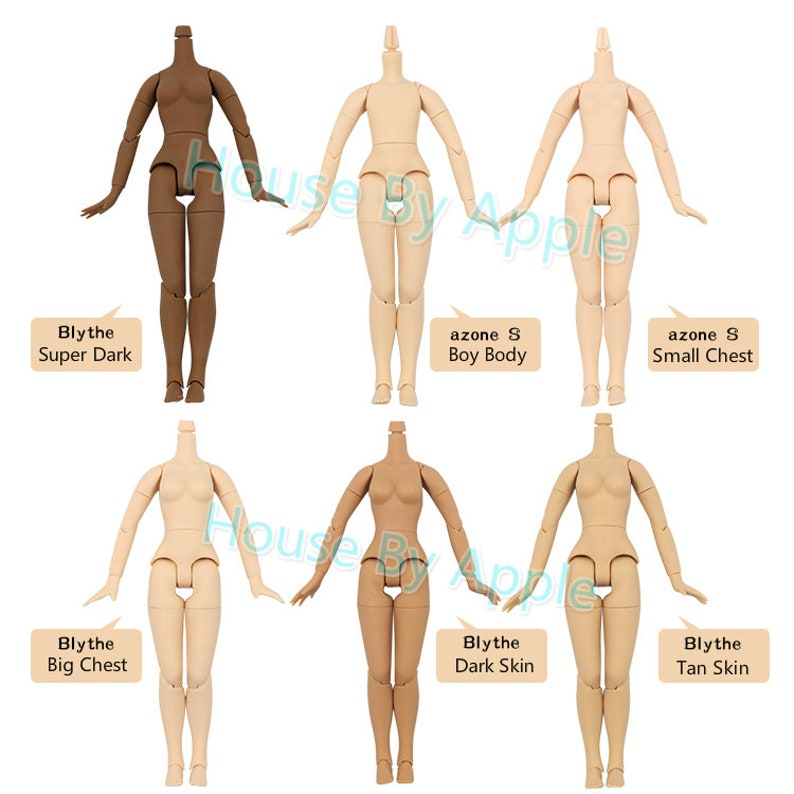 Blythe Body / Blythe Joint Body / body Joint Doll with hand image 0