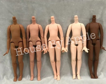 5 colours Blythe Boy Body/ Blythe Body / Blythe Joint Body / body Joint Doll with hand set / 19 parts body Joint Doll