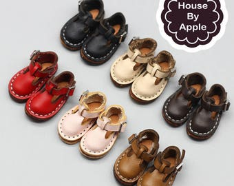 7 colour British style Retro Leather Mary Janes shoes for Blythe/DAL/Pullip/Azone/momoko/Jerryberry/Licca