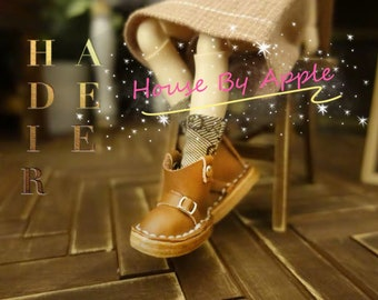 9 colour Leather short boots shoes for Blythe/DAL/Pullip/Azone/momoko/Jerryberry/Licca/OB24