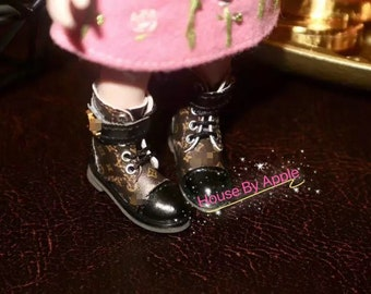 Fashion Luxury boots Doll Shoes for Blythe/DAL/Pullip/AzoneS/OB24//licca/1:6 doll shoes