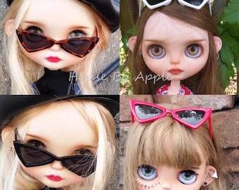Triangle Sunglasses For Blythe!!!Doll Miniature/Cute Glasses/Round Glasses/Doll fashion for Blythe